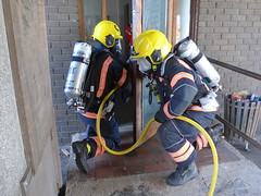 Cambridgeshire Fire and Rescue make good use of disused college facilities