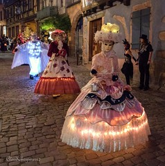 Nocture Riquewihr 2016 - 270 (Cloudwhisperer67) Tags: canon fantastic carnival riquewihr alsace france 2016 parade 760d venetian masquerade ball masked mask venise venezzia venice italy cloudwhisperer67 fest great colors flashy incredible amazing photgraphy love lovely adorable red blue yellow orange robes robe costume costumes bal masqu divine comedy women girls girl woman splendid nigth light lights nighscape scape urban city cityscape magic magical moment poetry image photography fantasy bokeh travel trip color people carnaval art fun europe europa 760 vnitienne