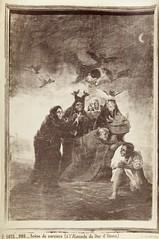 """Jean Laurent, """"Scne de sorciers. ( lAlameda du Duc d`Osuna)"""" (copia positiva, 1867-1878) (Museo del Romanticismo) Tags: jean museo historia laurent xix fotografa siglo romanticismo"""