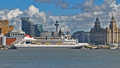 Braemar (BS) (Kay Bea Chisholm) Tags: liverpool cruiseship bahamas pierhead wallasey braemar rivermersey fredolsen seacombeferry