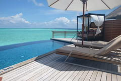 Pool Water Villa Deck (survivingmaldives) Tags: baros maldives surviving
