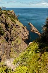 Peggy's Leg (Karen_Chappell) Tags: eastcoast eastcoasttrail newfoundland nfld scenery scenic seascape landscape ocean canada atlantic atlanticcanada green blue hills cliffs coast coastline shore rocky rocks