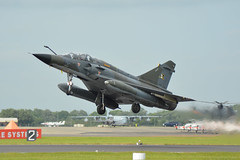 375 French Air Force Mirage 2000 Fairford 9/7/16 (David K- IOM Pics) Tags: 375 france french air dassault mirage 2000 2000n ramex delta force riat royal international tattoo egva ffd fairford 2016 airshow