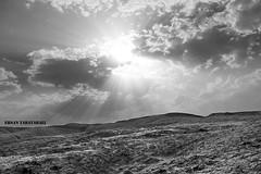 lanscape_b&w (tabatabaie_ehsan) Tags: beautiful landscape bw clouds sun nice desert iran qom