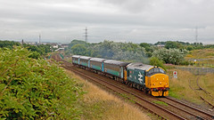 False Dawn (Richie B.) Tags: 2c33 derwent junction workington cumbria northern trains drs direct rail services english elect6ric british class 37 37403