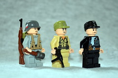 WW2 Germans (Evgenion) Tags: lego world war 2 ww2 ii german custom minifigure minifig figure fig action military moc brick forge brickforge weapon guns accessories  toy