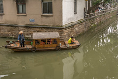 corner (stevefge (away for a few days)) Tags: shanghai suzhou watertown people candid street reflectyourworld boats water