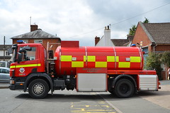 VU03 WWC (Emergency_Vehicles) Tags: vu03wwc hereford worcester fire rescue service hwfrs scania emergency one water tanker ledbury station