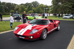 Ford GT (Hertj94 Photography) Tags: lake forest sports cars concours d elegance 2015 canon t3 bluff illinois october ford gt ferrari maserati aston martin