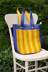 A Denim/Linen Super Tote (Huntspatch Quilts) Tags: n1608087351 supertote bag noodlehead agfdenim artgalleryfabrics laundrybasketquilts