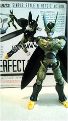 "Cell SH Figuarts ("" 43 "") Tags: toy action box review cell collection figure ssh 17 trunks cyborg 18 figurine piccolo sh android diorama vegetal bandai futur vegeta gohan boku dbz freeza ssj2 figuarts"