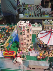 MOAH Winter Show 2014-2015 (172) (Last pass) (origamiguy1971) Tags: layout town lego mosaic spiderman trains superman batman palo alto ghostbusters moc walle moah baylug esseltine origamiguy origamiguy1971