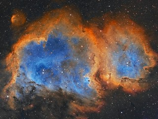 Soul Nebula narrowband