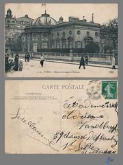 PARIS - Palais de la Legion d'Honneur (bDom) Tags: paris 1900 oldpostcard cartepostale bdom