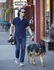 1284.2 Tom Cruise Chic (eyepiphany) Tags: dog streetphotography canine mansbestfriend portlandoregon stumptown streetfashion germansheperd streetfashionphotography photographersbestfriend whitetennies stumptownfashion portlandcasual portlandcazl portlandfashion365daysayear portlandfashiontrends fallfashion2014 tomcruisechic navypoloshirtandbootcutjeans photographicinstinct handsomeandcool