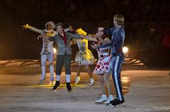 Johnny Weir,Irina Slutskaya, Ebgeni Plushenko,Katarina Gerdoldt,Brian Joubert (Elena Vasileva /  ) Tags: figureskating iceshow johnnyweir thesnowking