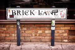 Brick Lane Road Sign (garryknight) Tags: bricklane london nx2000 perfectphotosuite samsung lightroom market road roadsign sign street creativecommons