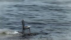 The chair and the sea - FrangokastelloBeach - Crete (vale0065) Tags: blue sea abandoned broken rock lost island chair blauw waves kreta zee greece foam crete lonely stoel isle schuim eiland verloren eenzaam rots griekenland golven stuk verlaten kappot