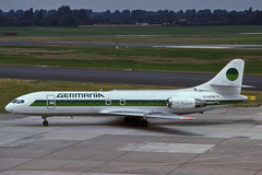 D-ABAW (Germania) (Steelhead 2010) Tags: germania caravelle sudaviation dus dabaw se210 dreg se21010
