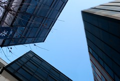 glass skyline (Con.StaNtiN) Tags: city urban abstract collage skyline architecture buildings nikon cityscape wideangle structure minimal 24mm urbanlandscape digitalcollage architecturalphotography minimalphotography