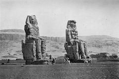 02_Theban Necropolis - Memnon Colossus (usbpanasonic) Tags: northafrica muslim islam egypt culture nile cairo nil necropolis egypte islamic مصر caire moslem egyptians egyptiens theban memnonstatues