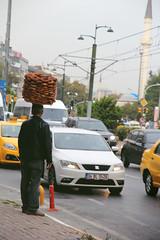 Simitci pro (redflowered) Tags: street istanbul simit simitci