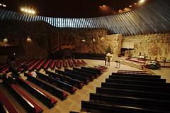 Temppeliaukio Church 1 (Rob Hurson) Tags: christmas cold ice church architecture suomi finland helsinki pentax pews rockchurch k30 pentaxk30 samsung1224mmf4