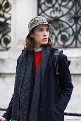 Model at Paris fashion week menswear (Marie-Paola Bertrand-Hillion) Tags: street paris mannequin fashion photography outfit model top style mode parisfashionweek fashionweek streetfashion menswear topmodel streetstyle pfw ootd