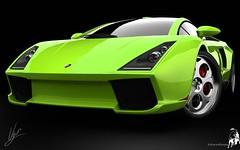 Lamborghini Green Concept HD wallpapers (carsbackground) Tags: green hd concept wallpapers lamborghini