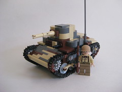 Type 95 Ha-Go (tyfighter07) Tags: japanese tank lego wwii type imperial 95 hago brickbuilder7