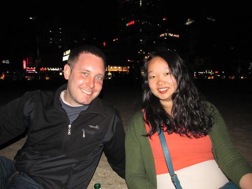 Adam et Sue, couchsurfing, Busan, Corée du Sud