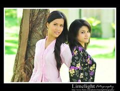 Deana and Syafika (Limelight Fotography) Tags: cute sexy girl beautiful fashion pretty photoshoot sweet modeling gorgeous malaysia kualalumpur lovely kl