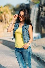 Daria 002 (Svetlana Kniazeva) Tags: park sunset portrait beach canon model dubai style photosession lifestylephotography 50mmf12l dubaiphotographer svetlanakniazeva photosessionindubai
