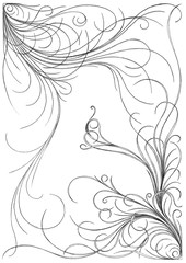52.A (matt_in_a_field) Tags: detail floral lines pen pencil ink typography hand drawing space fine negative font drawn typo lead 52 intricate describe fineline descriptive a