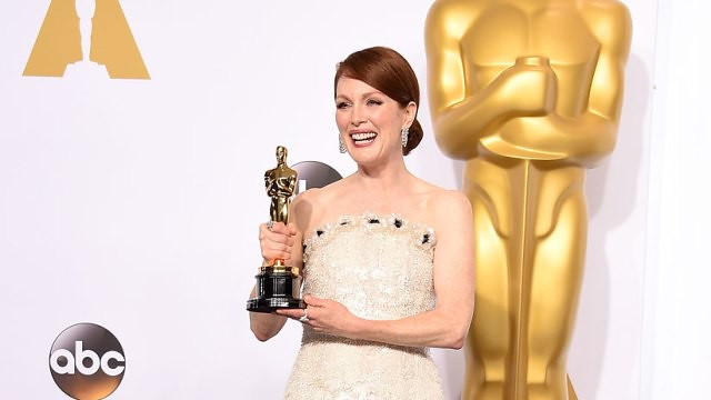 Julianne Moore wins for Oscars 2015 Best Actress