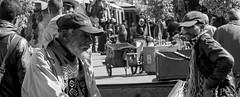 15022015-P1170644 (Philgo61) Tags: old man men face pull lumix faces market panasonic iso morocco maroc marrakech souk casquette 100 mm 35 souks marché dmc barbe olds vieux homme visage charette médina visages gf1