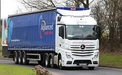 Mercedes Actros 6x2 Advanced Supply Chain YG63FXA Frank Hilton 05032015 062 (Frank Hilton.) Tags: pictures classic truck frank photos transport hilton lorry trucks classictruck heavyhaulage stgocat2 malcolmharrison frankhilton05032015