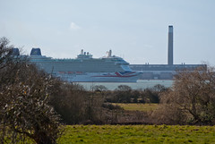 Britannia (hutchyp) Tags: water docks ship royal hampshire po southampton unionjack britannia pando fawley warsash