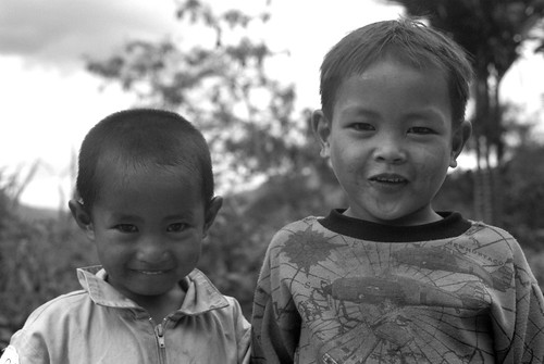 Two Young Friends (Banaue, Philippines)