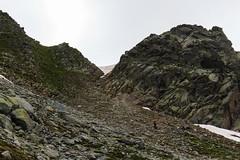 Verso la Cresta (Roveclimb) Tags: mountain alps suisse hiking mountaineering alpinismo svizzera alpi montagna klettern alpinism splugen spluga escursionismo suretta graubunden grigioni seehorn rothornli surettaluckli