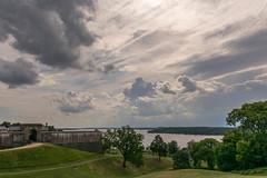 Fort-Washington-8 (vaabus) Tags: fortwashington fortwashingtonmaryland fortwashingtonpark bastion casemate cannon 24poundercannon caponniere civilwardefensesofwashington fortification