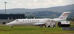 258  Bombardier LearJet 45  c/n 45-234 (John S Douglas) Tags: militaryjet