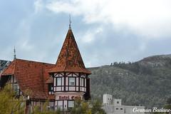 Hotel Coln II (Geba22) Tags: maldonado uruguay piriapolis outdoors outdoor hotel colon postal sky cielo arquitectura torre