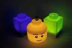 lego lights (if i were a brick) Tags: lego accessories gift favour wedding storage head light nightlight led custom