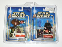 star wars saga attack of the clones yoda jedi master and count dooku dark lord 2 pack basic action figures bj's wholesale club exclusive 2002 hasbro mosc a (tjparkside) Tags: red 2 two green dark walking army one star 1 palpatine force with yoda action robe hologram attack lord special arena collection master pack ii 02 darth clones figure jedi council shock stick obi cloak 23 lightsaber wars wan clone saga figures exclusive sith basic episode lightsabers emperor count hasbro robes wans hilt obiwan sidious attackoftheclones slashing dooku 0223 seperatists aotc seperatist obiwans