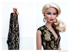 Black Lace... (DK Dolls) Tags: vanessa jason black fashion star doll power lace wu fr couture perrin royalty integrity fr2 fr3 shantommo