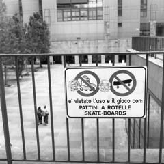 Milano (Valt3r Rav3ra - DEVOted!) Tags: street blackandwhite bw 120 6x6 film rolleiflex milano streetphotography bicocca ilforddelta400 biancoenero analogico urbanvisions medioformato milanobicocca visioniurbane valt3r valterravera