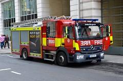 WV16 NYY (Emergency_Vehicles) Tags: wv16nny londonfirebrigade lfb