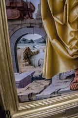 Gallerie d'Italia - Restituzioni (Stefano Merli) Tags: milano 2016 italia italy milan lombardia italie italiedunordouest italieseptentrionale italiedunord northernitaly norditalia miln mediolanum lombardy lombardei lombardie regionelombardia museum museo muse gallerieitalia gallerieditalia intesasanpaolo restituzioni labellezzaritrovata mostra caravaggio restauro pentax pentaxk3 k3 polariseur polarizer polarisator polarizzatore stefanomerli arte art kunst peter stpeter francescodelcossa ferrara 1436 bologna 1478 14701473 tempera gold panel brera pinacotecadibrera sanpietro ora tavola legno wood