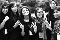 Female Volunteers (N A Y E E M) Tags: girls volunteers group portrait youthsvoicefoundation event chaunapiaju ramadan afternoon shoronika communitycenter chittagong bangladesh farishtaafzaly afghan student auw